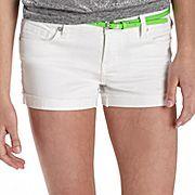 Tinseltown Neon Belt Shorts