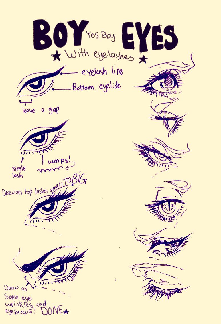 boy eyes by on deviantART