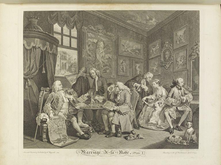 Marriage A La Mode William Hogarth Philadelphia Museum Of Art Art