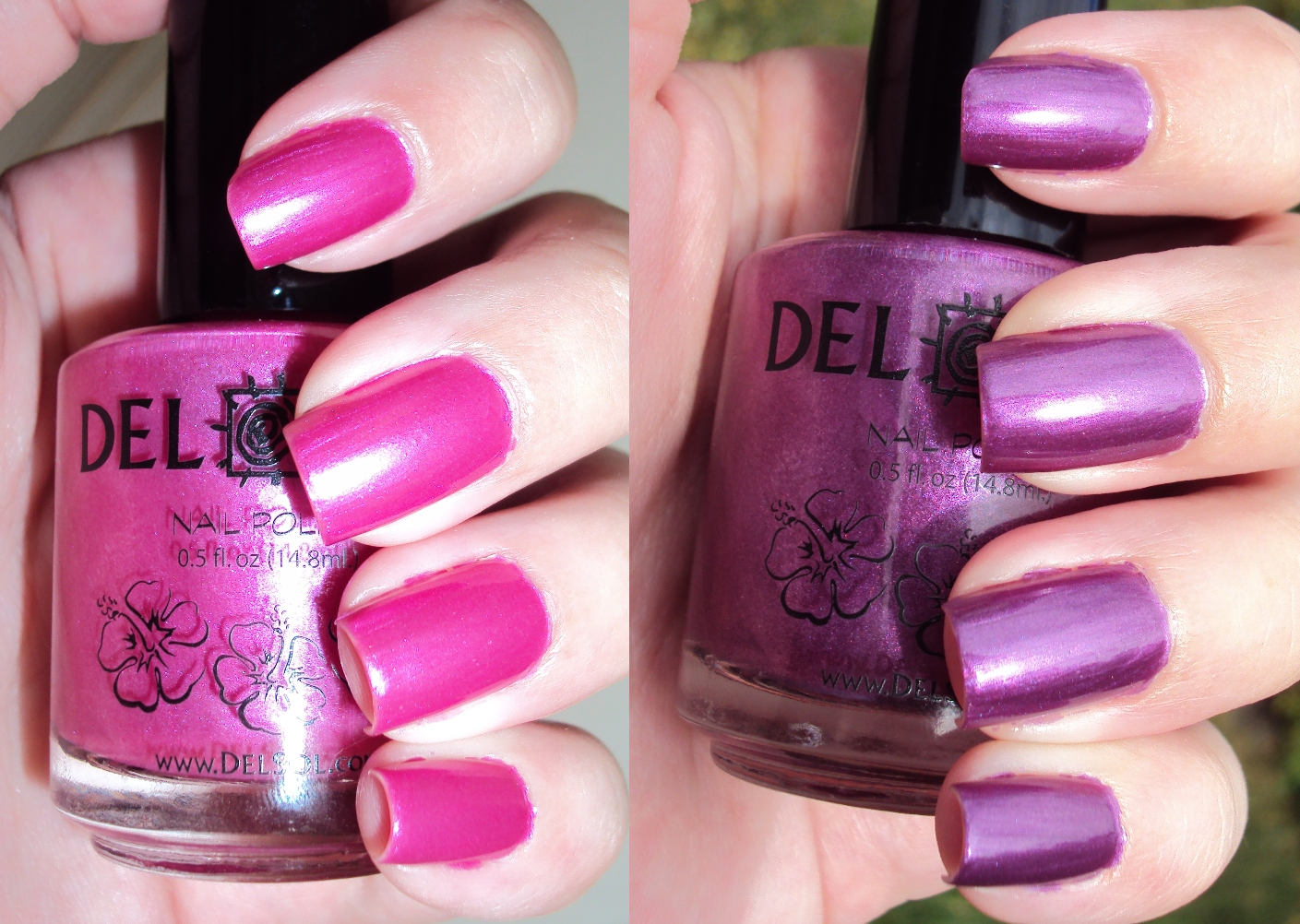 Del Sol: Foxy | Nail Polish I Want | Pinterest