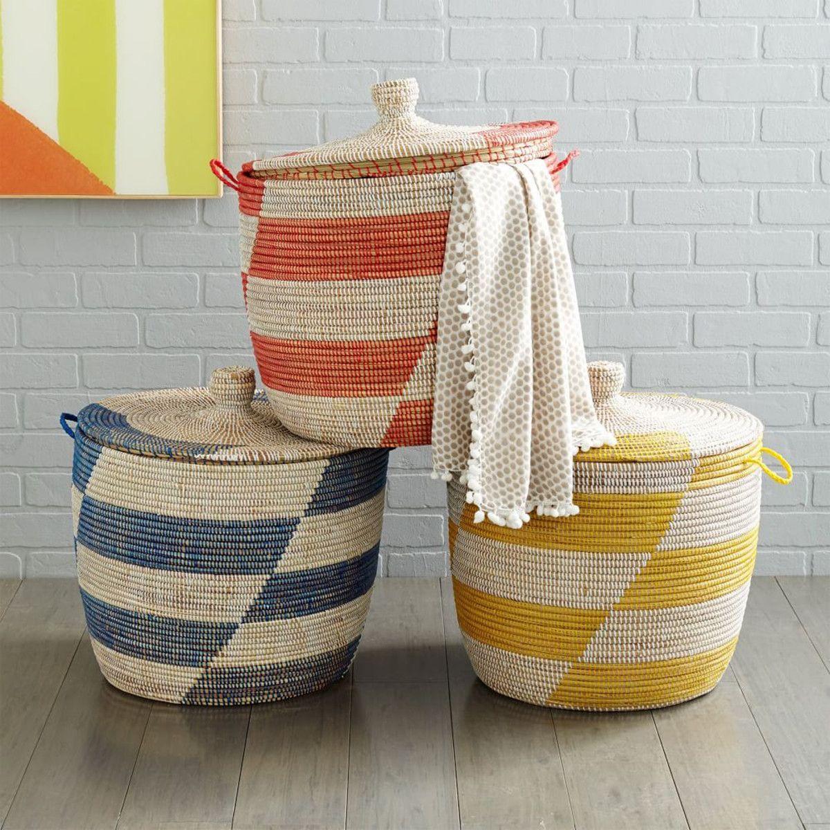 Amazing Graphic Printed Oversized Basket. Storage ...