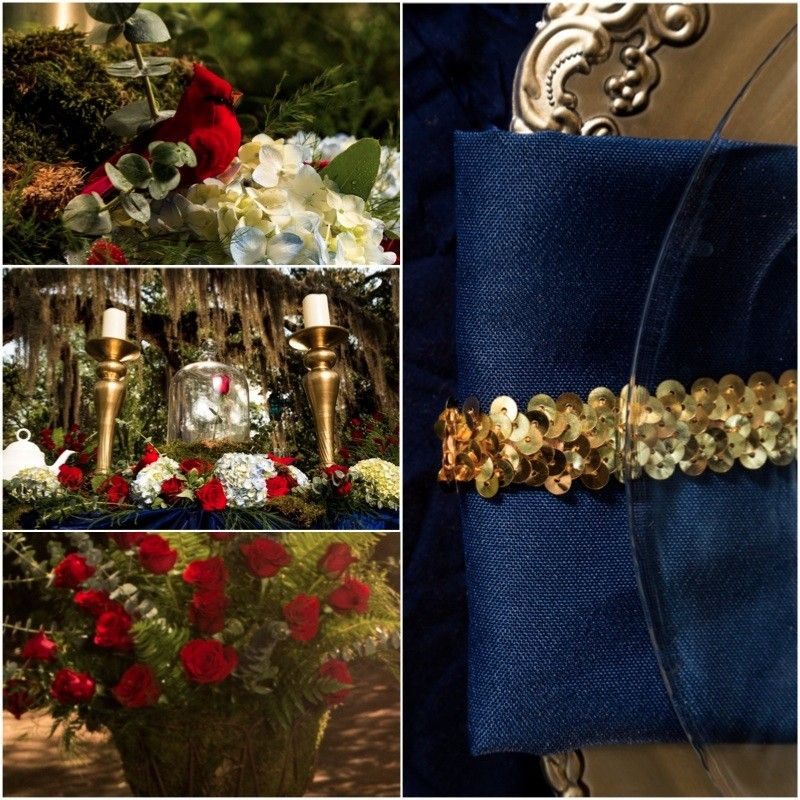 Beauty and the Beast Themed Wedding Central Texas Love this