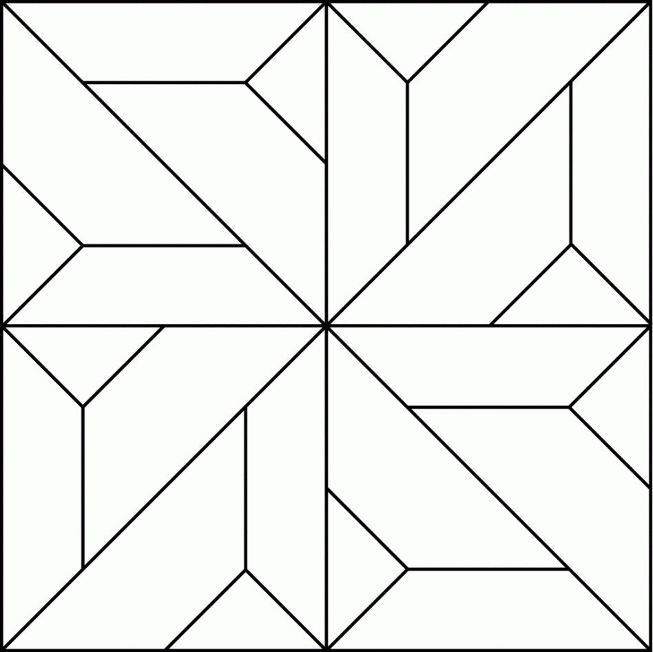 Quilt Blocks Coloring Pages To Print Printables Http Www