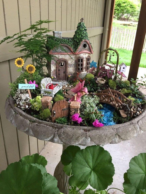 30 Perfect Fairy Garden Ideas To Inspire Your Mini Garden Fairy Garden Mini Garden Fairy Garden Diy