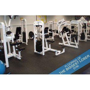 8mm Rubber Gym Flooring Rolls 4 X 15