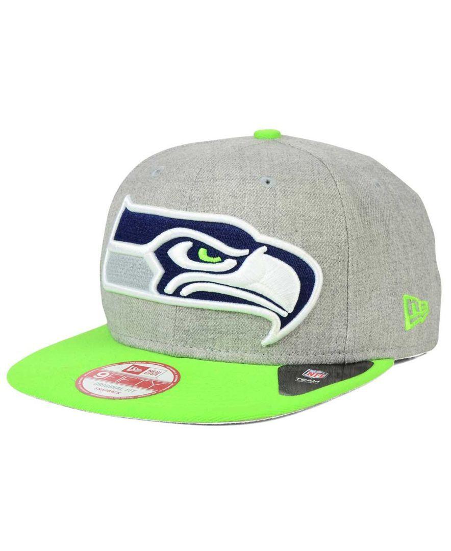 ddb4dd658 New Era Seattle Seahawks Grand 9FIFTY Snapback Cap