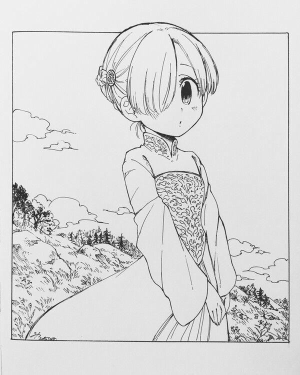 Elizabeth criança | Nanatsu, Nanatsu no taizai mangá ...