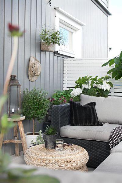 Idees Vis A Vis Decoration Balcon Appartement