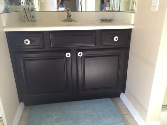 Best Bathroom Vanity Redo After Using General Finishes 640 x 480