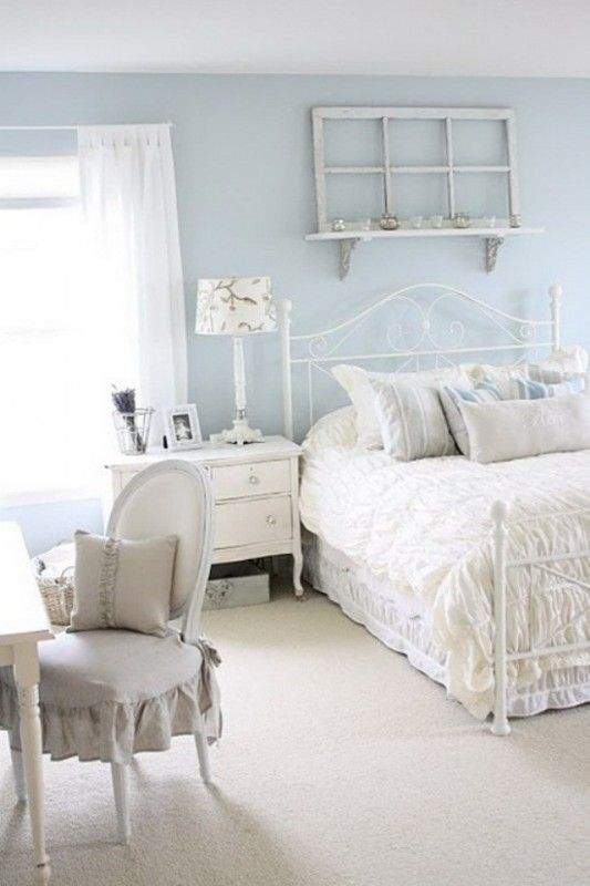 Blue Shabby Chic Bedroom Ideas 3 Awesome Design Ideas