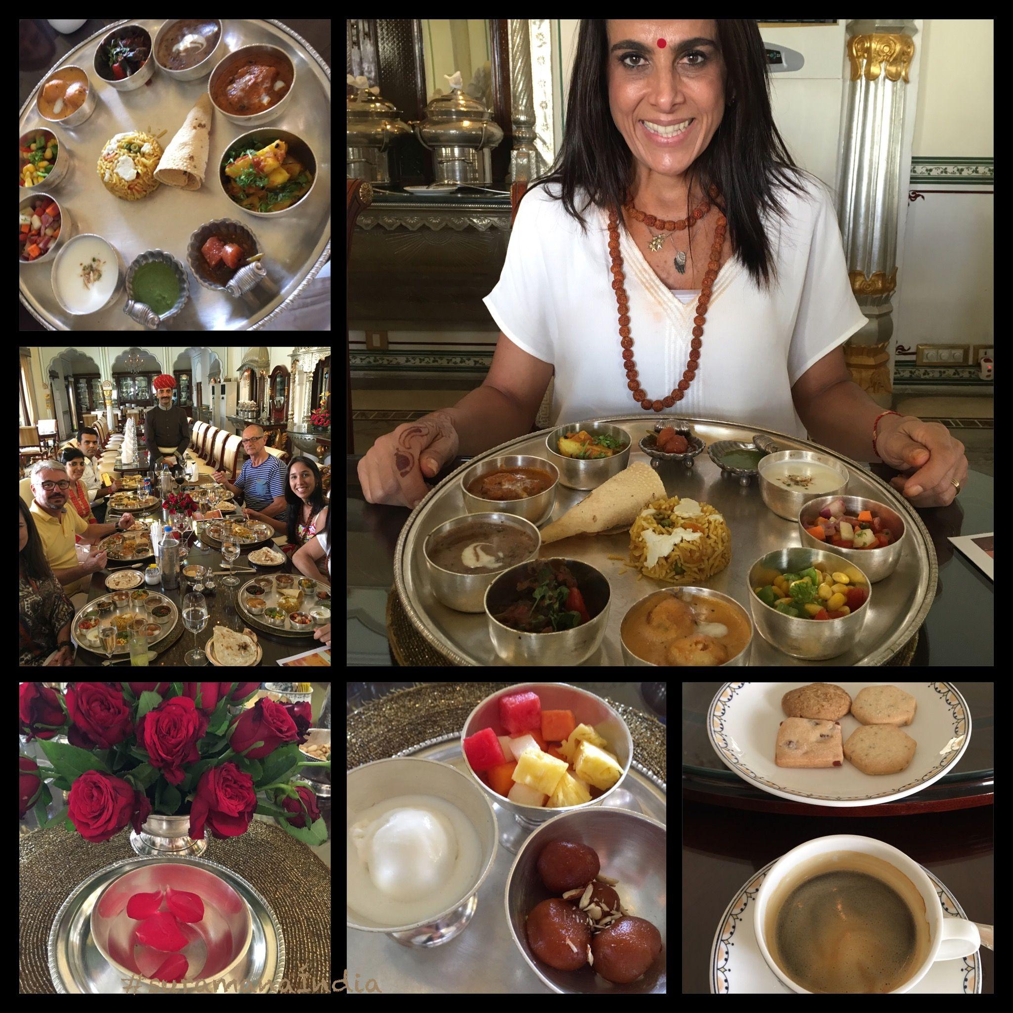 Experiência ÚNICA no restaurante Swapan Mahal Palace, um verdadeiro palácio dos sonhos, onde tivemos a oportunidade de vivenciar o menu degustação de um dos TOP 15 melhores restaurantes do mundo!! Me sinto muito agradecida com esta oportunidade! #SuramaJurdi #Índia #Namastê #Foco #Aprendizado #Novidades #Degustação #SaboresdaÍndia  