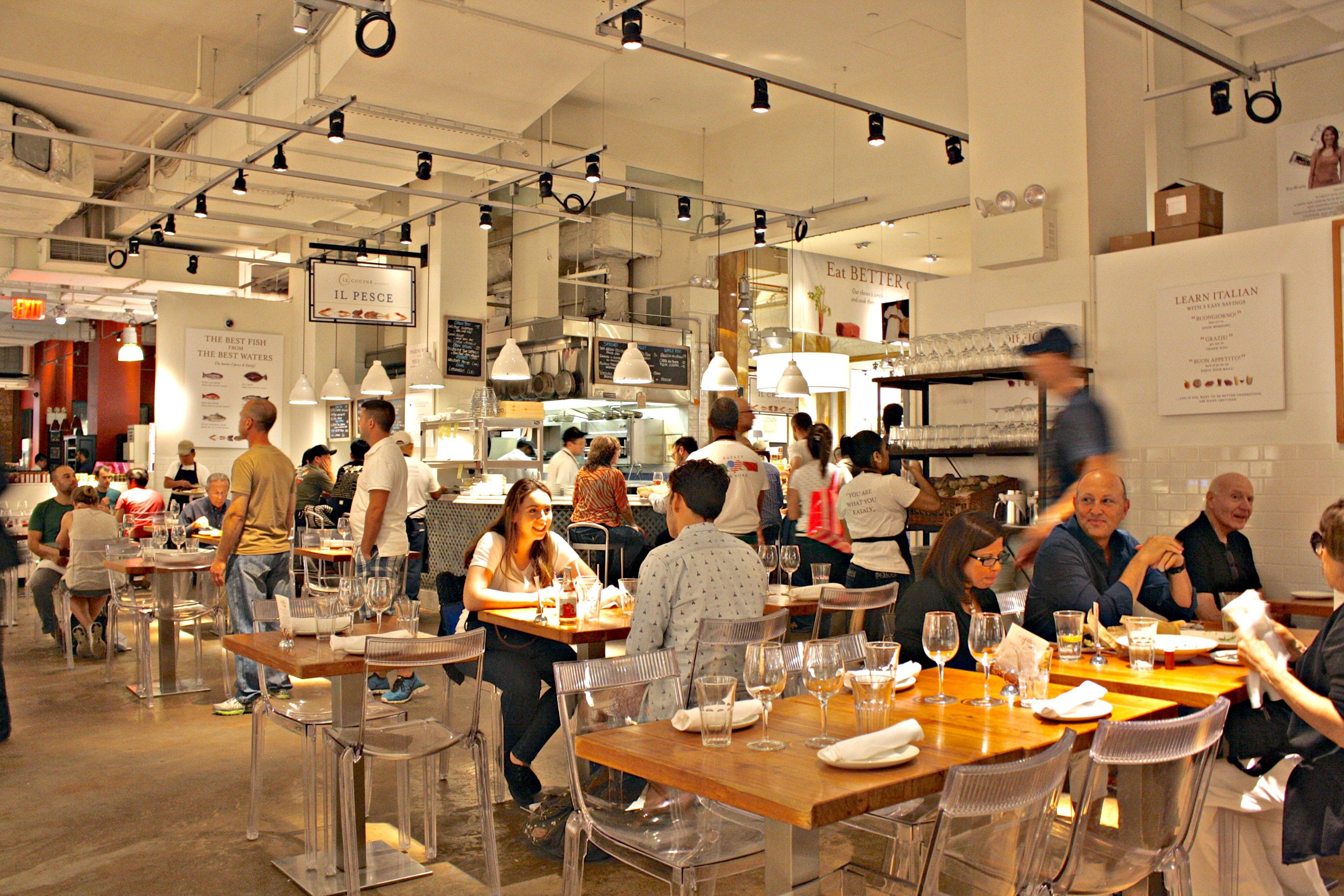 Eataly NYC: Gourmet Italian Food in the Flatiron in 2018   Beauty ...