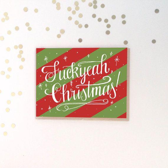 Fuckyeah Christmas Card