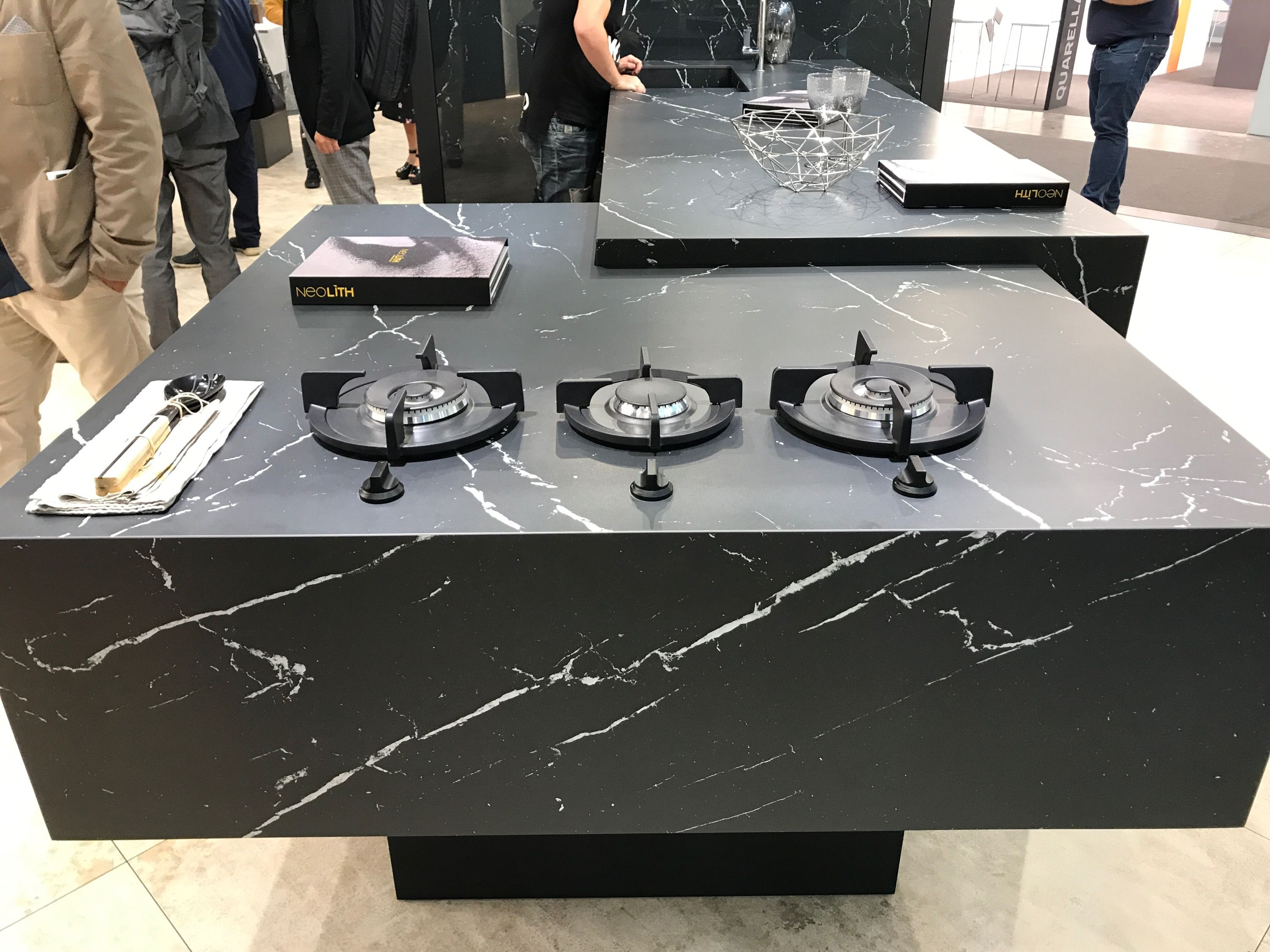 The Neolith Stand At Marmomac Trade Fair 2017 In Verona Stay  # Muebles Lazaro Zaragoza