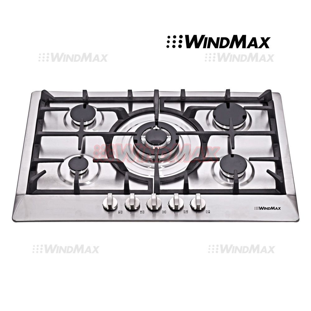 Ge Profile Series 30 Built In Gas Cooktop Pgp953setss Gas
