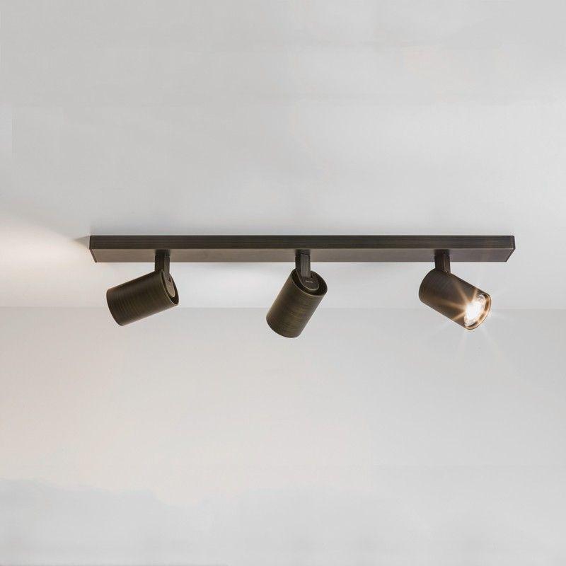 astro ascoli 3 light bar spotlight bronze lighting direct - Spotlight Kitchen Lights