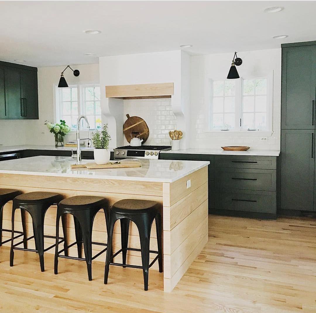8 Inspiring Non-White Kitchens   Kitchen cabinets decor ...