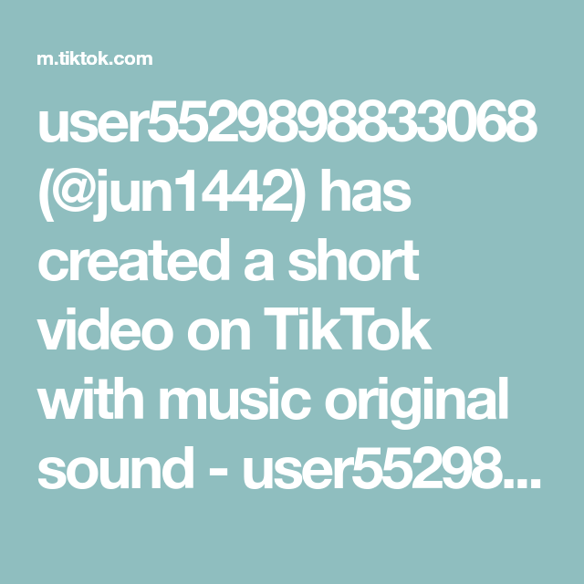 User5529898833068 Jun1442 Has Created A Short Video On Tiktok With Music Original Sound User5529898833068 Making Friends The Originals Music
