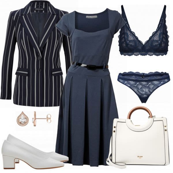 15ee0ac5fa751c Business Outfits: Heine Blue bei FrauenOutfits.de #fashion #fashionista # mode #