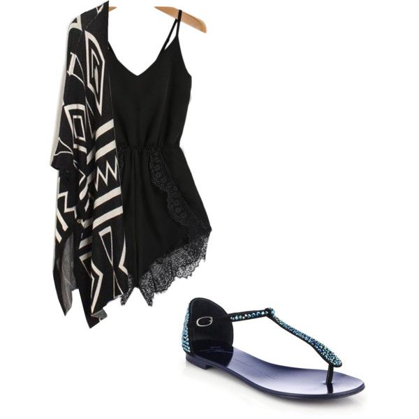 Going out by alannaxjonnesx on Polyvore featuring polyvore, fashion, style and Giuseppe Zanotti