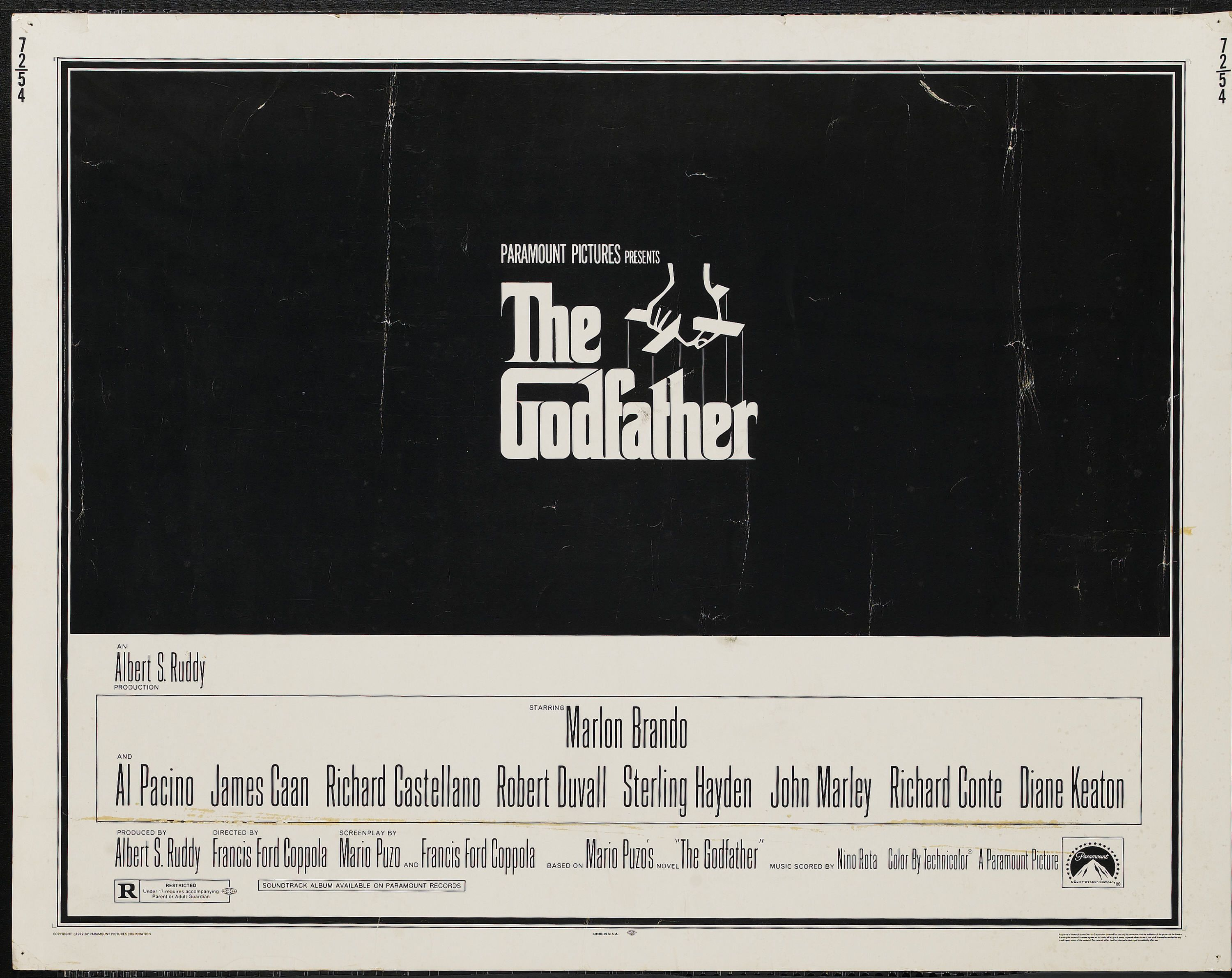 Godfather The Godfather Original Movie Posters Robert Duvall
