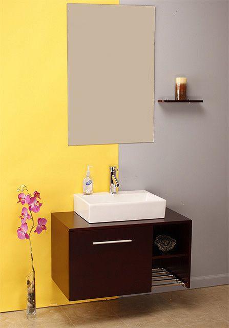 Modern Bathroom Vanity AP-1027-2542 by Aqua Pat ...