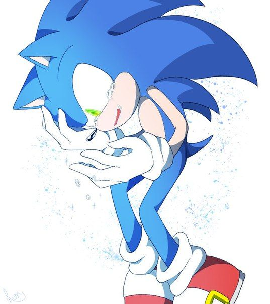 Pin On Crying Sonic