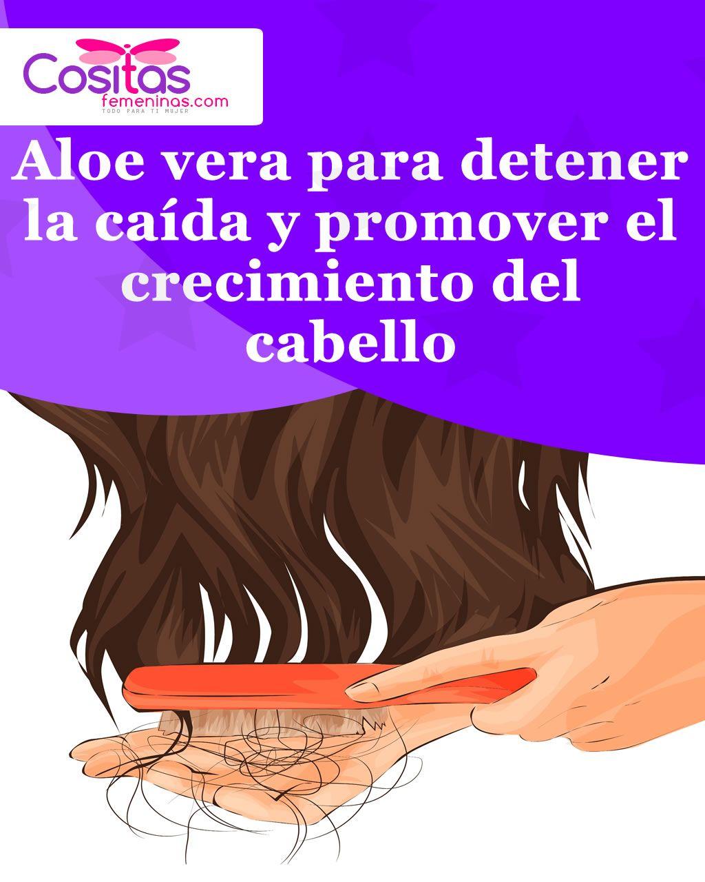 Aloe Vera Para Detener La Caída Y Promover El Crecimiento Del Cabello Aloe Vera For Skin Simple Skincare Skin Care Tips
