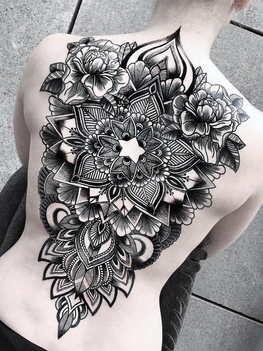 Ramon On Back Tattoo Women Back Tattoo Beautiful Tattoos