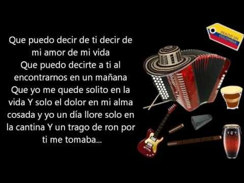 Solo en la vida Farid Ortiz (Letra) - YouTube