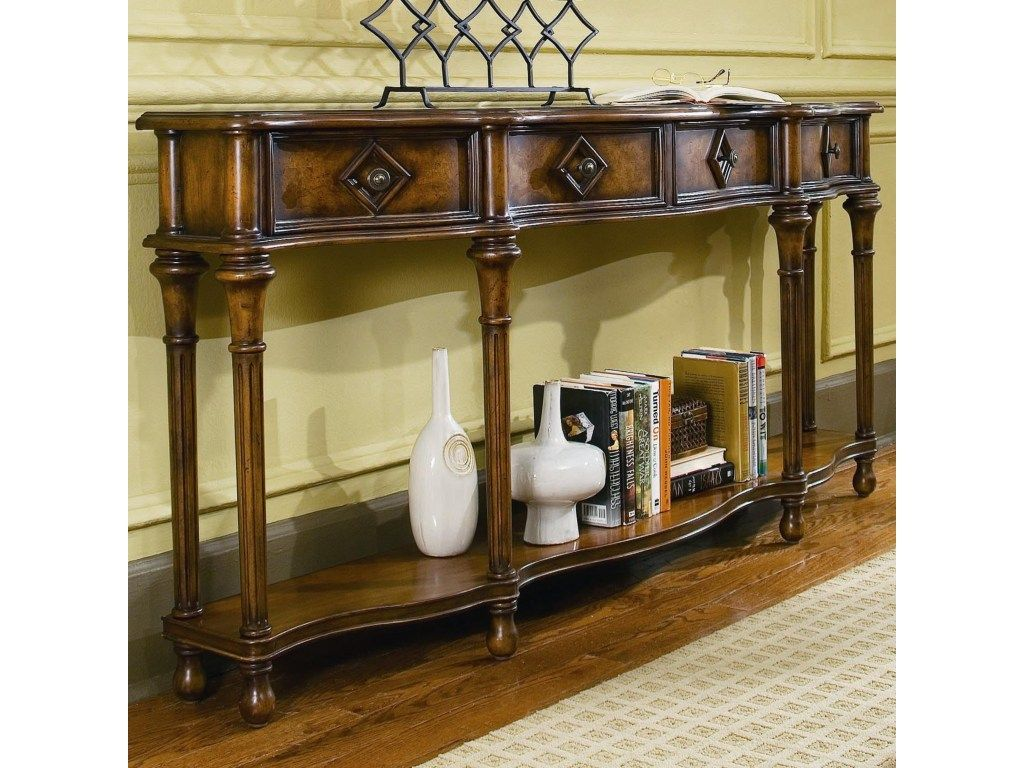 Chests And Consoles 72 Inch Hall Console Add Visual Interest To Your Family Room Living Room Den Or Entryway With Th Hall Console Table Furniture Home Decor