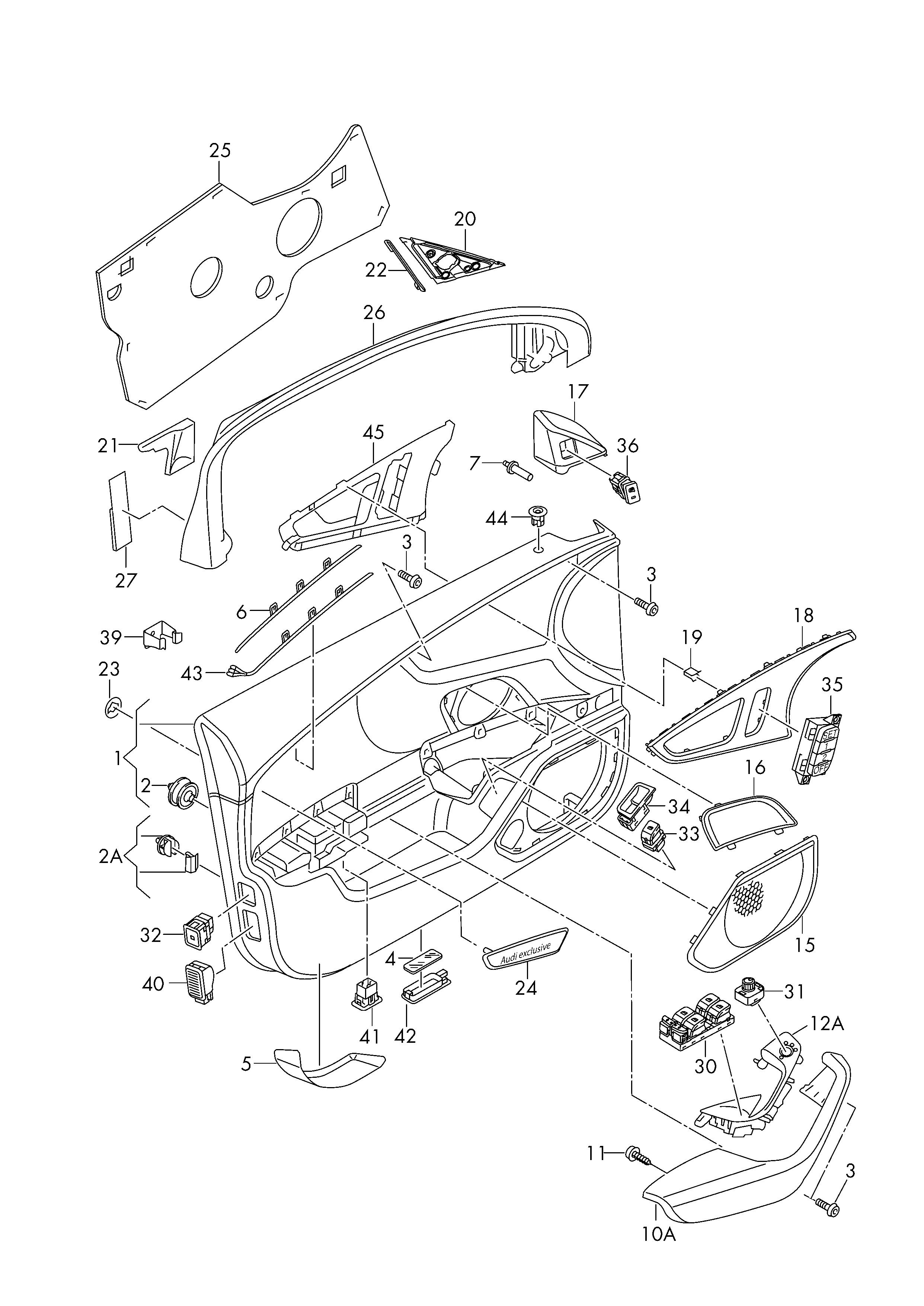 audi a6 parts diagram wiring diagram advance audi a6 c5 parts diagram [ 2483 x 3508 Pixel ]