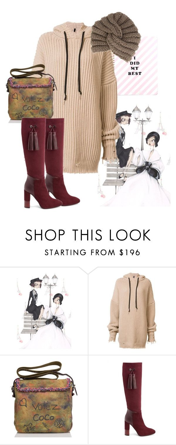 """""""hoody"""" by masayuki4499 ❤ liked on Polyvore featuring Chanel, Unravel, Aquatalia by Marvin K. and Inverni"""