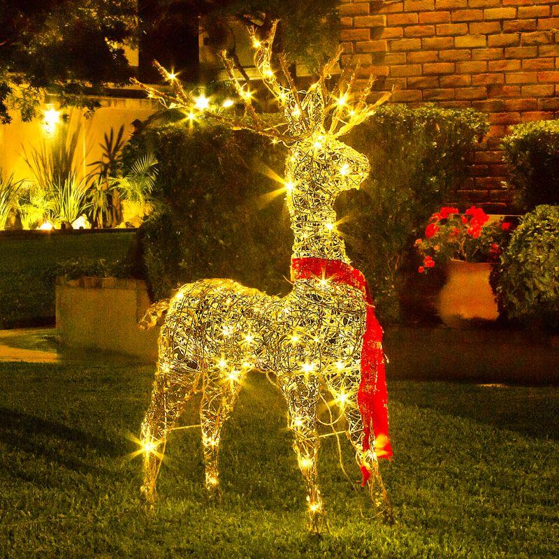 ¡Espera con Rodolfo, el reno la llegada de Santa