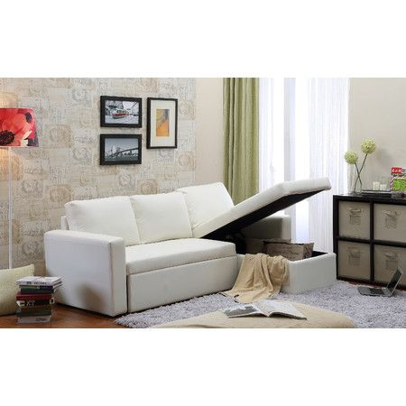 "Geor own 89"" Sectional Sleeper Sofa"