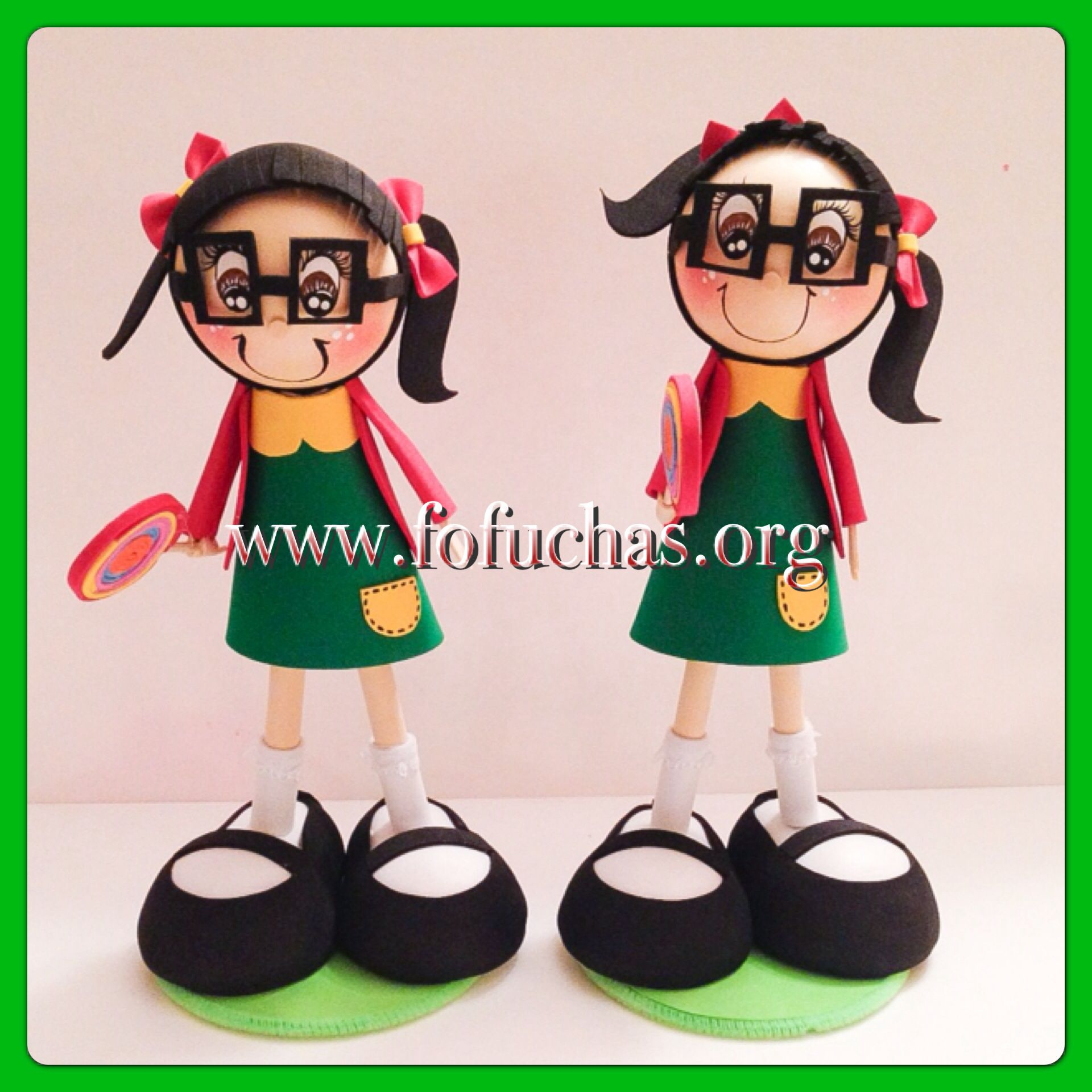 how to make foam sheet dolls