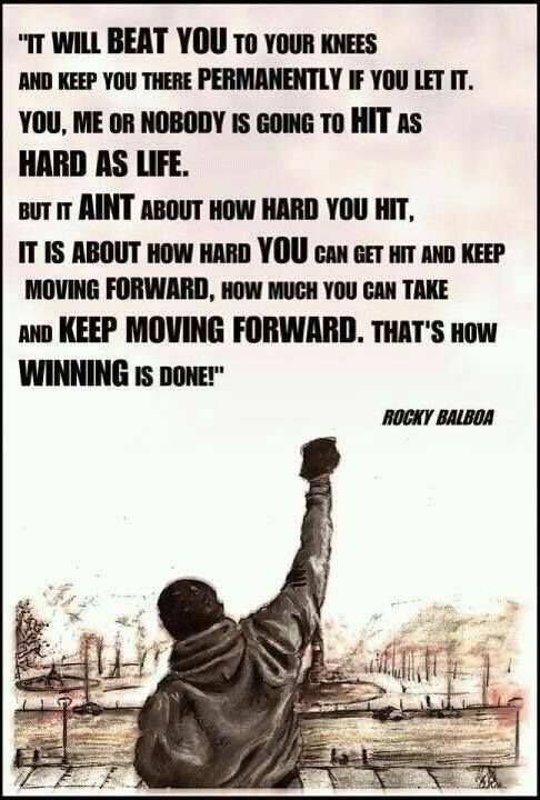 Dr Steve Maraboli Rocky Balboa Quotes Rocky Quotes Best Motivational Quotes
