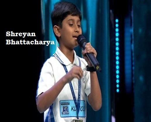 Shreyan Bhattacharya in 'Saregamapa Little Champs 2017' is