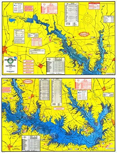 map of sam rayburn lake Topographical Fishing Map Of Lake Sam Rayburn Rayburn Reservior map of sam rayburn lake
