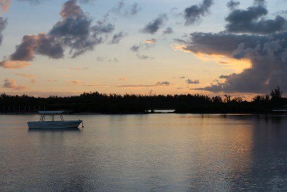 Lever de soleil au Zilwa Hôtel - Nord de l'ile Maurice