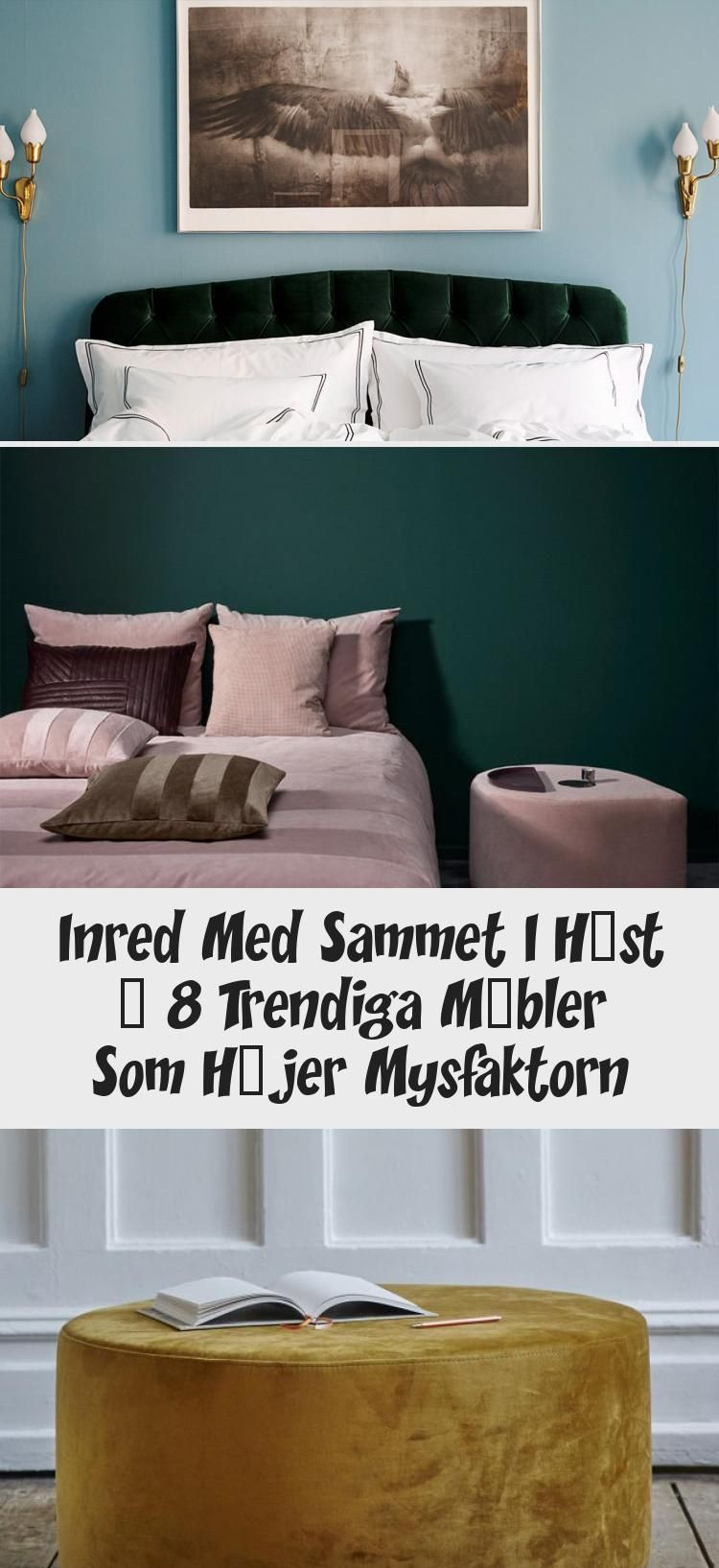 Inred Med Sammet I Höst – 8 Trendiga Möbler Som Höjer