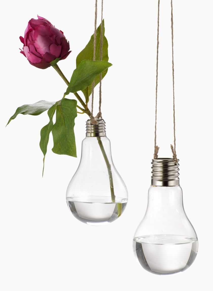 Glass light bulb hanging vases on jute cord light bulb floral hanging light bulb bud flower vase rustic outdoor romantic garden wedding party event decorations planner floral reviewsmspy