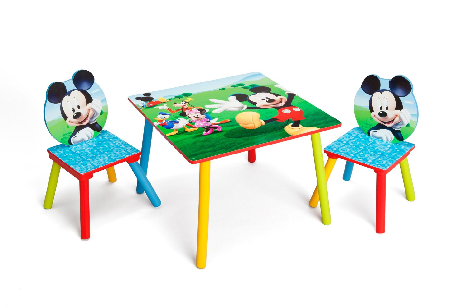 Mickey Mouse Table And Chair Kids Study Table Mickey Mouse