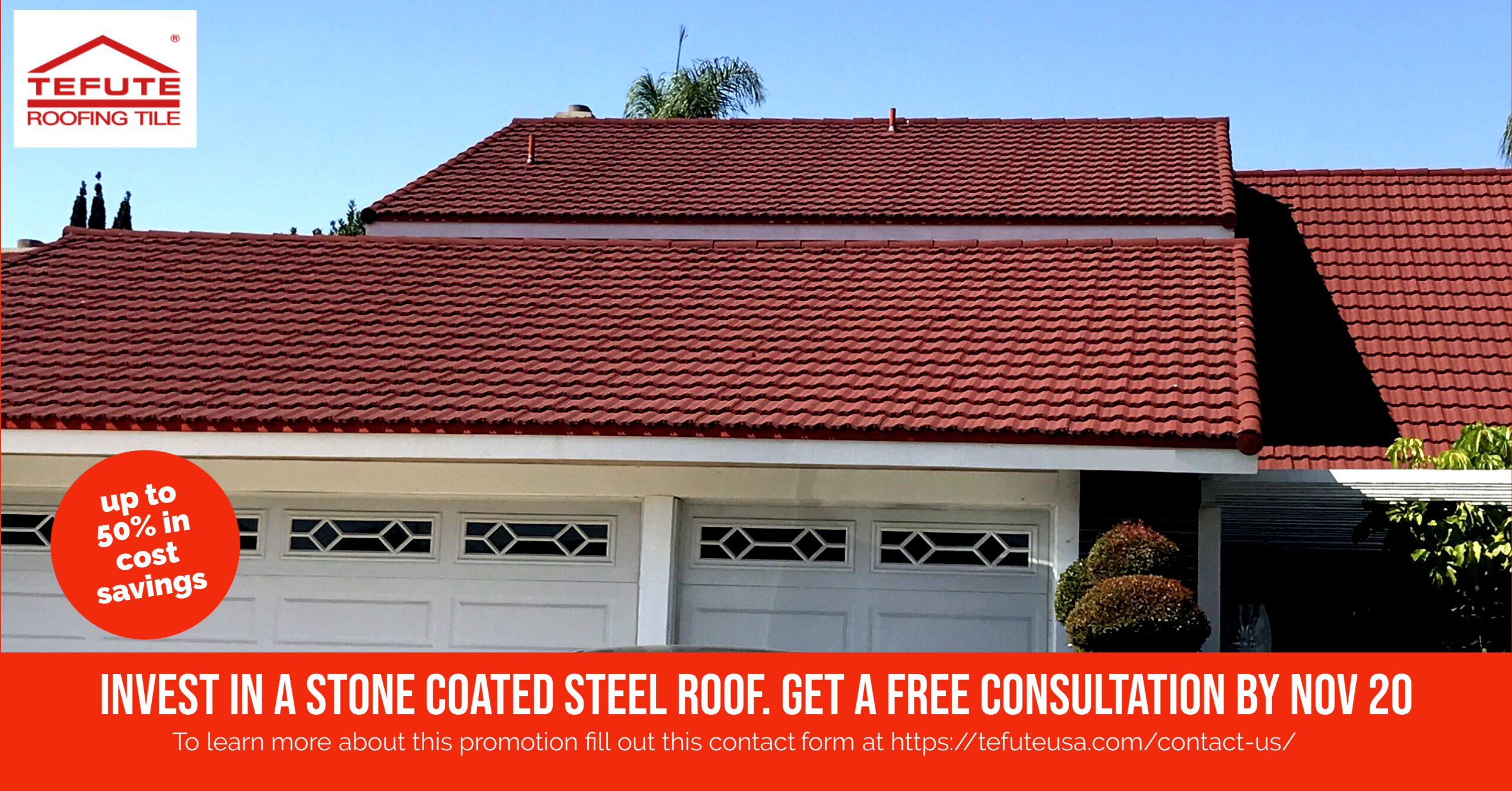 Invest In A Stone Coated Steel Roof And Get A Free Consultation By Nov 20 Roofing Roofingcontractors Floridar In 2020 Roofing Building Materials Roofing Contractors