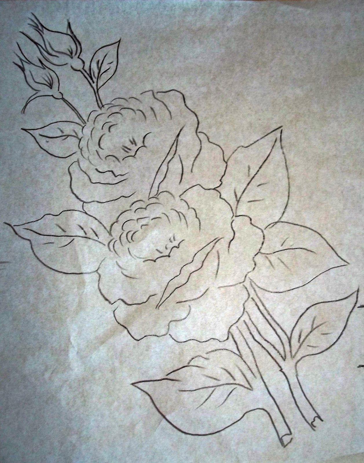 Arte Vida Rosas Vermelhas Desenhos De Flores Esbocos De Flor