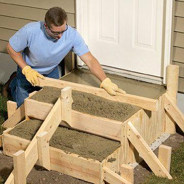 Best Diy Outdoor Steps Poured Concrete Steps Concrete Steps 640 x 480