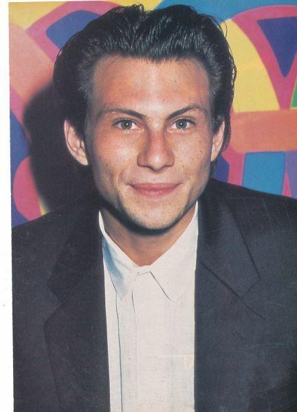 Christian Slater pinup