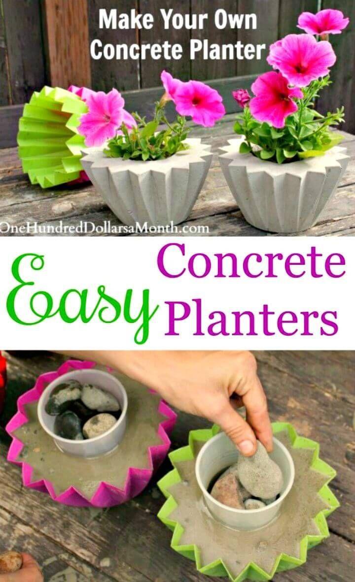 23 Diy Concrete Projects: use concrete to amazing extents ...