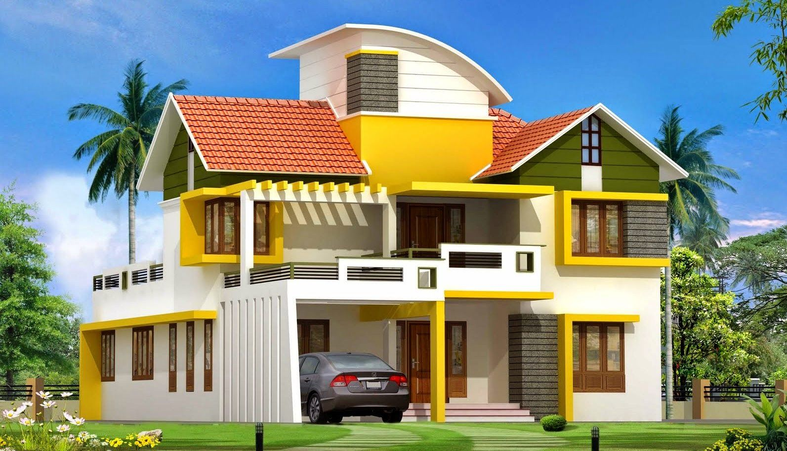 Superb House · Kerala Home Design New Modern ... Good Looking