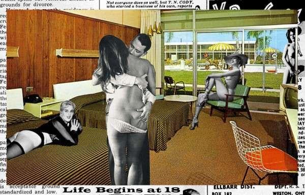 Retro Pop Culture Collages #retropop